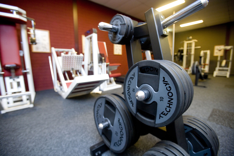 fitness voorpagina