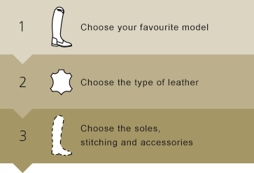 Customize your ridingboots