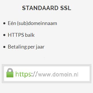 SSL Certificaat - Standaard