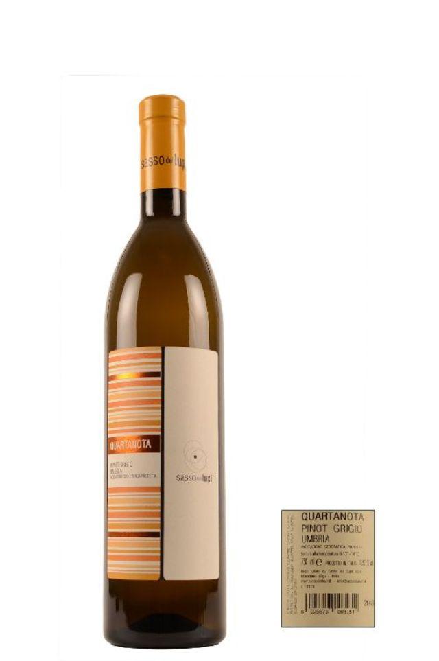 Image of 2018 Sasso Dei Lupi QUARTANOTA Pinot Grigio