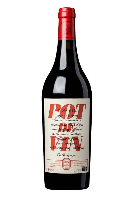 Pot De Vin Bio 2+1 Gratis
