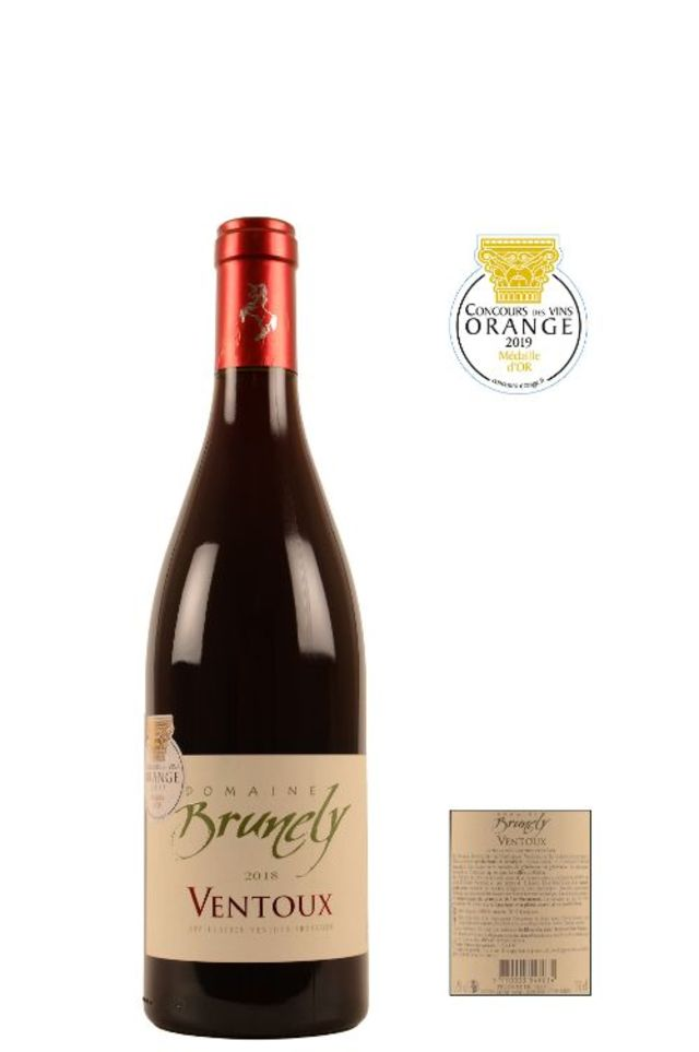 Image of 2018 Domaine Brunely Red Ventoux Medaille D'Or