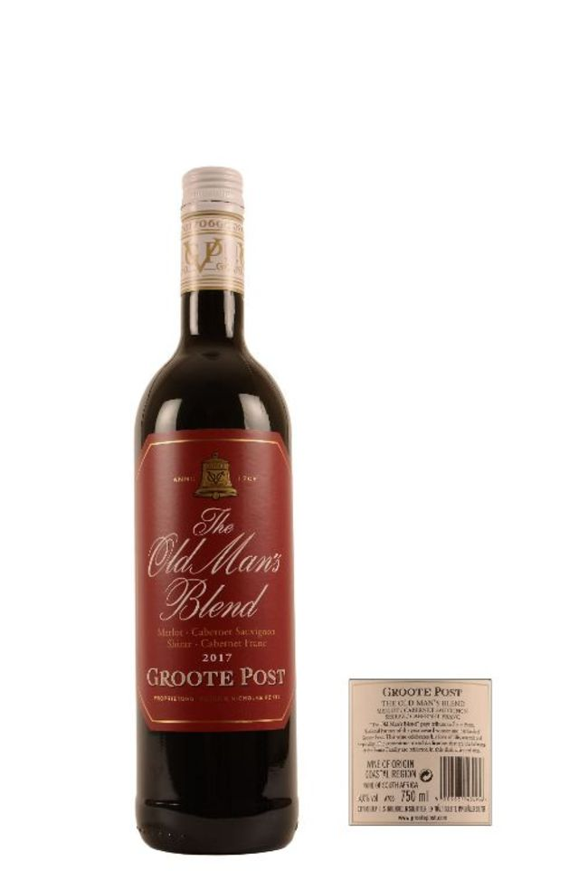 Image of 2017 Groote Post The Old Man's Blend Red